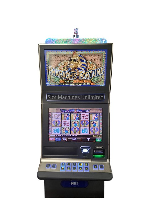 Pharaoh's Fortune IGT Slot Machine