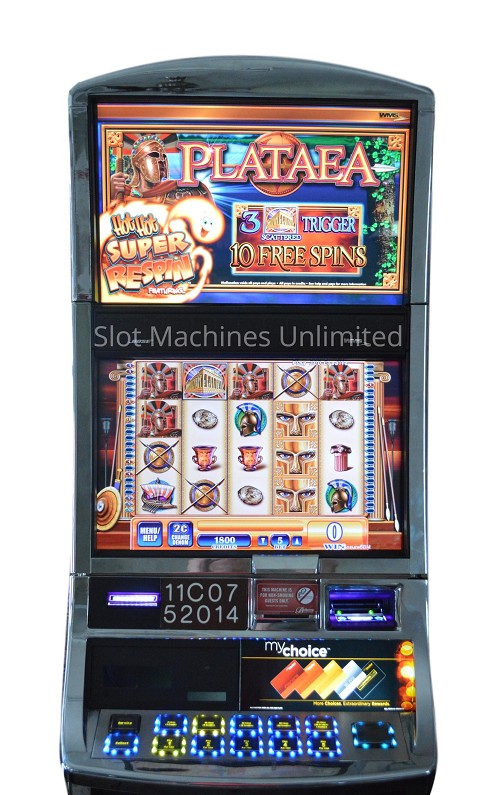 Plataea Williams Slot machine