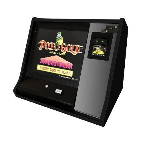 Super Trivia Pot-O-Gold Touchscreen Multi-Game  (Poker - Blackjack - Keno - Bingo - Slots - Trivia) (Bar-Top) (Touch-screen)