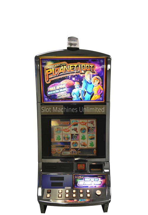 Return to Planet Loot Williams Slot machine