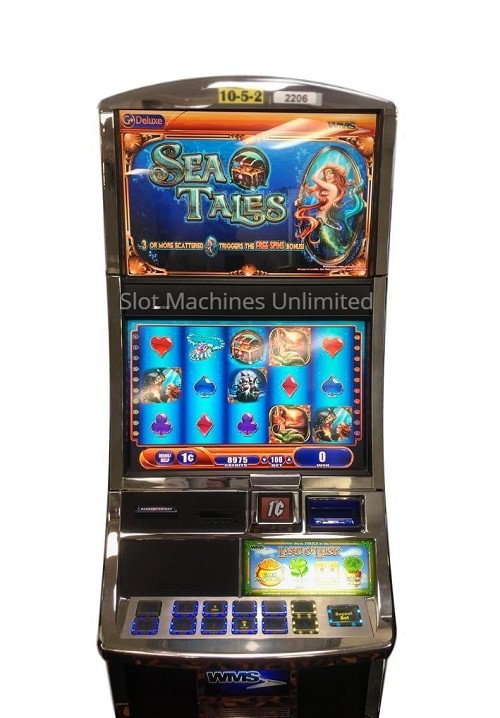 Sea Tales Williams Slot Machine