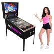 "BLACK DIAMOND VP Virtual Pinball Machine Includes Over 1300 Games! Large-43"" LCD monitor! (2&1) Pinball and arcade game!"