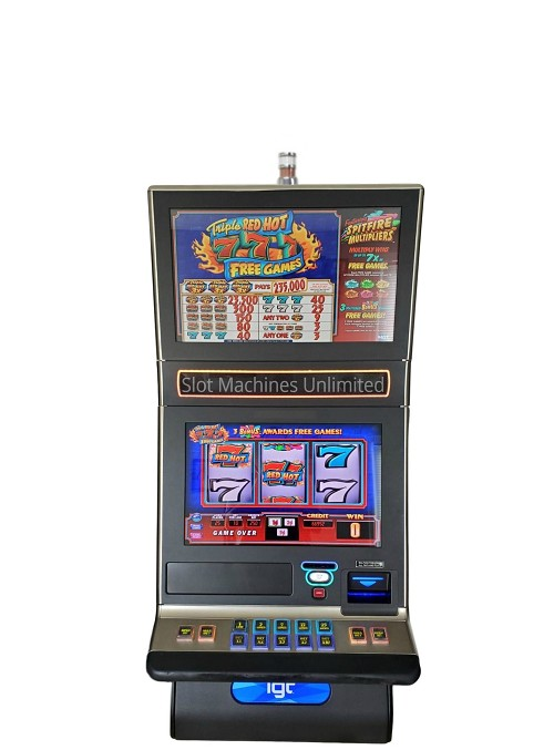 Triple Red Hot 7s IGT Slot Machine