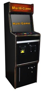 POT O GOLD DX Multigame (Poker - Blackjack - Keno - Bingo - Slots) (Marque Upright) (Touch-screen)