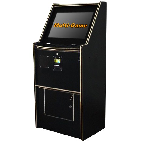 POT O GOLD DX Multigame (Poker - Blackjack - Keno - Bingo - Slots) (Full-size short Upright) (Touch-screen)