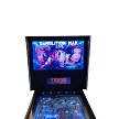 "STINGER VP Virtual Video Pinball Machine! Includes 322 FAMOUS Pinball Games! 49"" 4K-LCD Screen!"